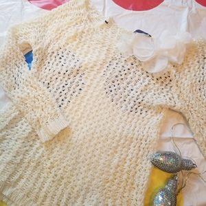 Dex crochet big looped top